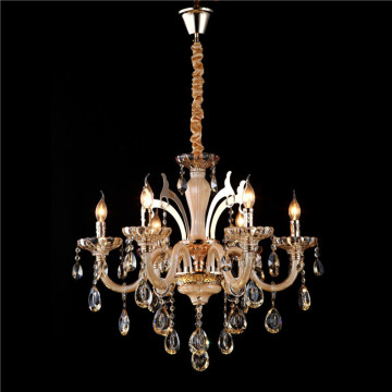 traditional brass church candle chandelier