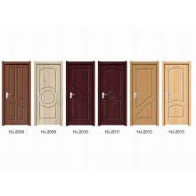 Puerta interior de madera de PVC (serie HJ)