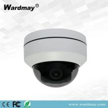 2.0MP 4X Zoom IR Kubah IP PTZ Camera
