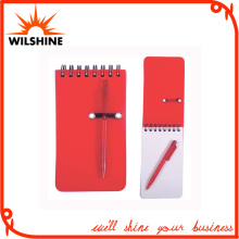 Custmoized Plastic Mini Pocket Soft PP Cover Spiral Notebook (PPN230)