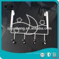 Металлические проволочные галстуки Вешалка и крюк для ремня