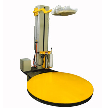 Electrical type Top plate pallet wrapper