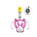 Für Kinder Unterwasserschnorchel Set Full Face