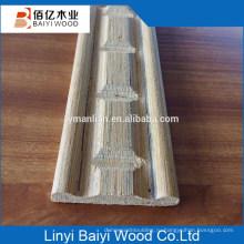 декоративная плинтус из дерева