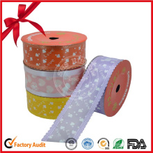 Venta al por mayor Colorful Ribbon Roll Gift Decoration