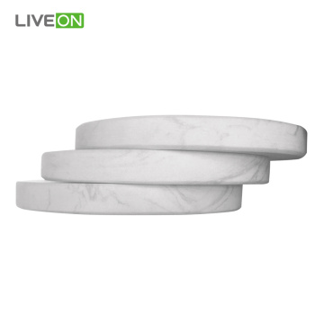 4Pcs Tea ou Cup Marble Coaster Set
