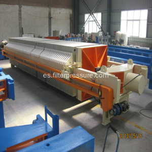 Filter-Cloth Washing Carbón Wishing Chamber Filter Press