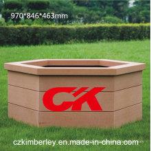 Boîte à fleurs 100% recyclable WPC en provenance de Chine