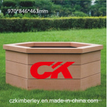 100% Recyclable WPC Flower Box From China