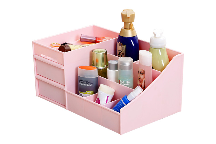 Plastic Desktop Cosmetic Big Organizer
