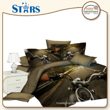 GS-FM3DO-02 Support customized 3d polyester fabric / bedsheet