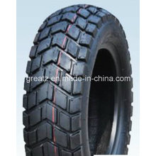 China motocicleta cubierta tubeless 120/90-10