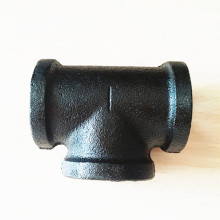 "DN 3/4"" tee black E-coating malleable iron"