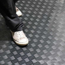 Coloured Durable Industrial/Commerical Anti-Slip Rubber Safety Checker Pattern Rubber Flooring