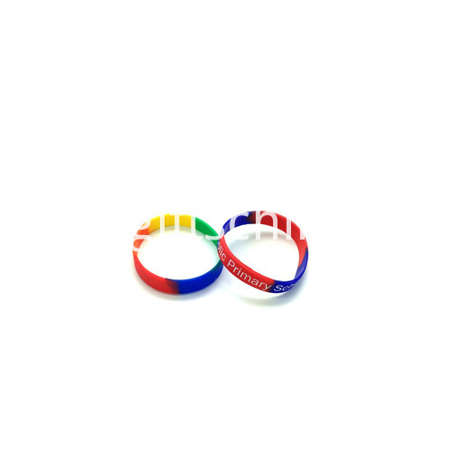 Promotional Segment Printed Silicone Wristbands-180122mm2