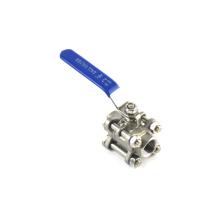 Neue Produkte Heimgebrauch oder Industrie lange Lebensdauer Gost Mini-Kugelhahn