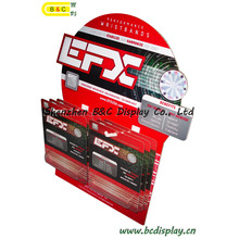 Corrugated Display, Paper Display Stand, Cardboard Floor Display, Hook POS Display, Pegboard Display (B&C-E002)