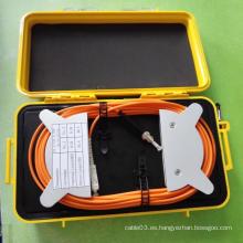 Caja de lanzamiento OTDR de fibra óptica multimodo