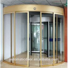 Porte coulissante en verre à mouvement automatique DPER