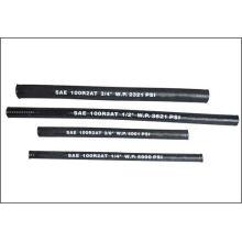 По SAE 100 R2 с стальной провод усилил резиновый покрытый гидравлический шланг