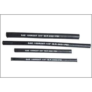 SAE 100 R2 Steel Wire Reinforced Rubber Covered Hydraulic Hose