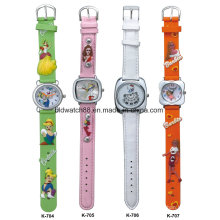 Cheap Silicone 3D Cartoon Band Children Watch for Promotional Gift