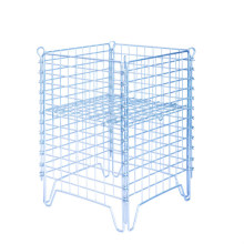 Stackable Folding Metal Steel Storage Wire Mesh Cage