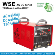 Ac dc inverter tig mma pulse welding machin WSE 160