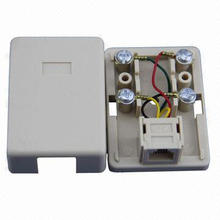 Rj11/Rj12/RJ45 Telephone Socket with Good Price