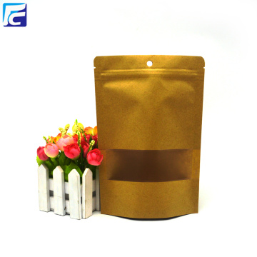 Food Packaging Eco Packaging Kraft Brown Paper Bag