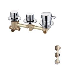Faucets manufacturer 3 function standard custom wall mount bath shower faucet