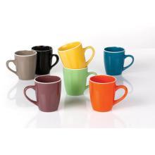 Keramische Farben glasiert Becher 12 oz Kaffee Tasse