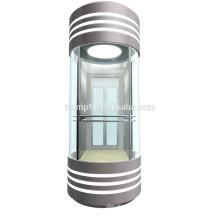 Lujo y moderno ascensor de observación