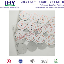 Single Layer Board 94v0 LED Ronde PCB
