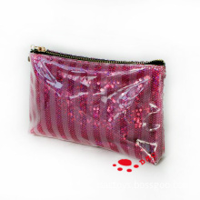 Sequin Embroidery PVC Cosmetic Bags