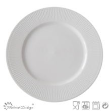 Placa de porcelana de diseño de cerámica en relieve