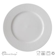 Plaque en porcelaine gaufrée en céramique