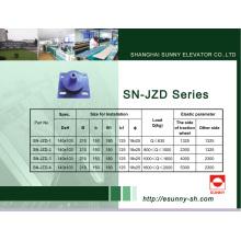 Almohadilla antivibración para la máquina de tracción (SN-JZD-1)