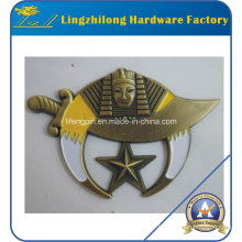 Antique Gold Finition Masoniccar Emblème