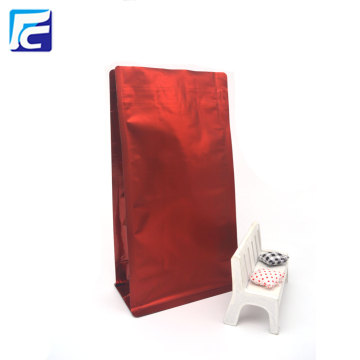 2017 New Food Packaging Coffee Bag Flat Bottom