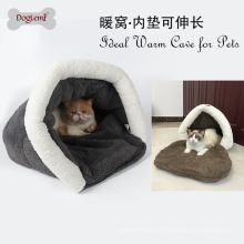 2017 Doglemi Großhandel Winter Weiche Warme Haustier Hund Katze Haus Bett