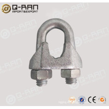 Clip de cuerda de alambre estándar maleable galvanizado