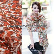 SD319-087 moda lenço de seda da moda