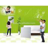 Best Sale 425W Energy-saving Adjustable Wall Mounted Panel heater with DIY Colorful Painting