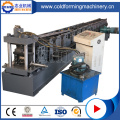 Automatical stackable rack frame upright rolling machine