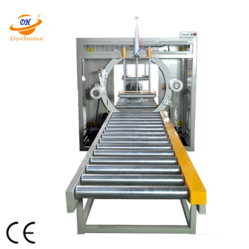 Pipa Baja Orbital Stretch Wrapping Machine Mesin Packing