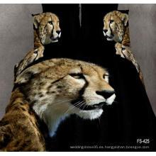 2017Animal tigre 3D impresión beding conjunto cómodo Funda Duvet Hoja de cama BS002