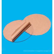 Planche à découper précise de laser de machine acrylique