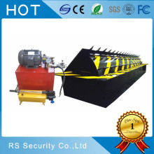 Automatic electric parking rising road blocker