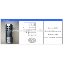 Construction & Mining truck aluminum polished anti theft diesel fuel tank cap